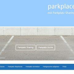 Einfach Parken mit Parkplace