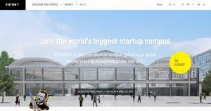 StationF Webseite